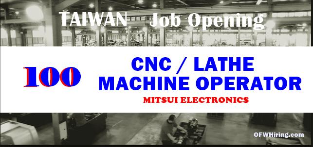 Cnc Lathe Machine Operator Job In Dubai Salary The Best Machine